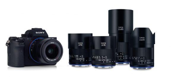Линейка оптики Zeiss Loxia