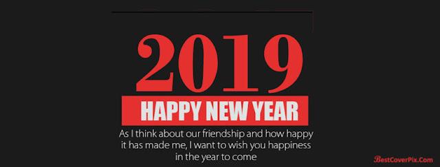 ảnh bìa facebook chúc mừng năm mới với lời chúc khá nhẹ nhàng