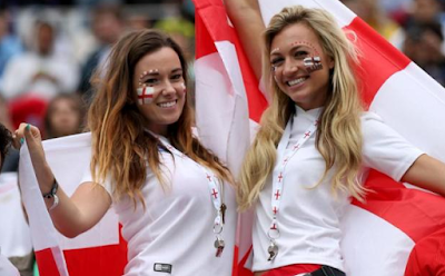 Supporter cewek cantik Inggris EURO '16