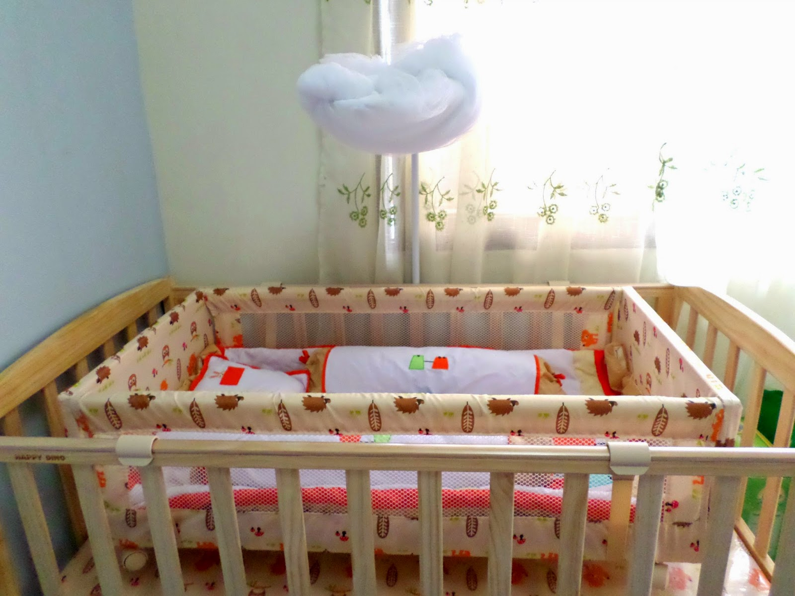 Cas And Baby S Crib