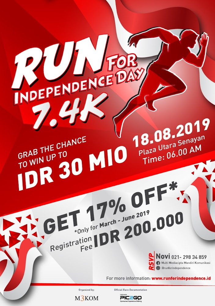 Run For Independence Day • 2019