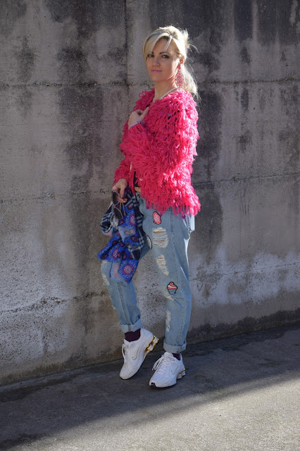 how to wear fucsia how to combine fucsia mariafelicia magno fashion bloggers italy italian web influencer
