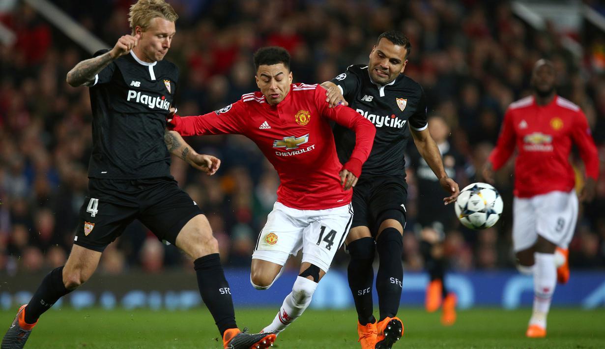 Manchester United kandas di 16 besar Liga Champions oleh Sevilla