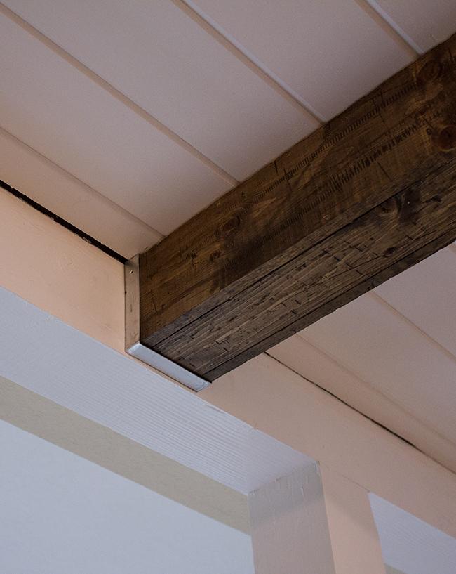 Kitchen Chronicles: DIY Wood Beams   Jenna Sue Design Blog