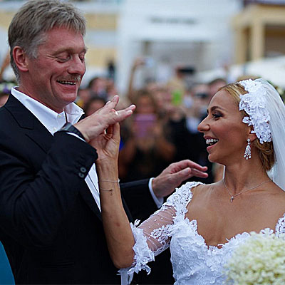 Tatiana navka and Dmitry Peskov married: PHOTOS