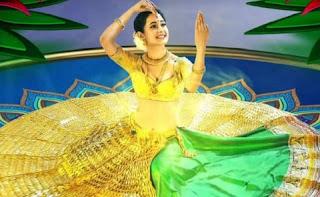 Pragya Jaiswal is hit with her 14kg gold lehenga on the internet.