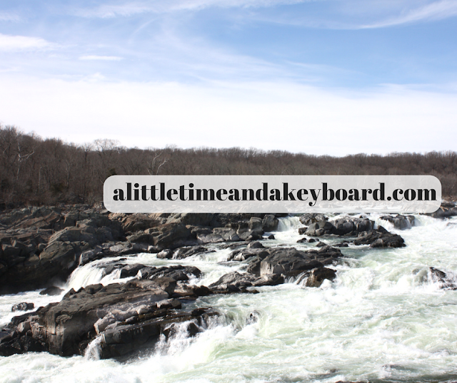 Rapids at Great Falls in Maryland