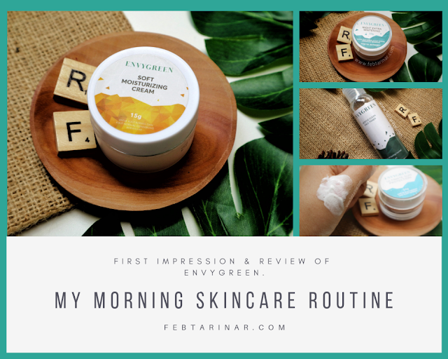 First Impression & Review of Envygreen | Rara Febtarina beauty blogger bandung