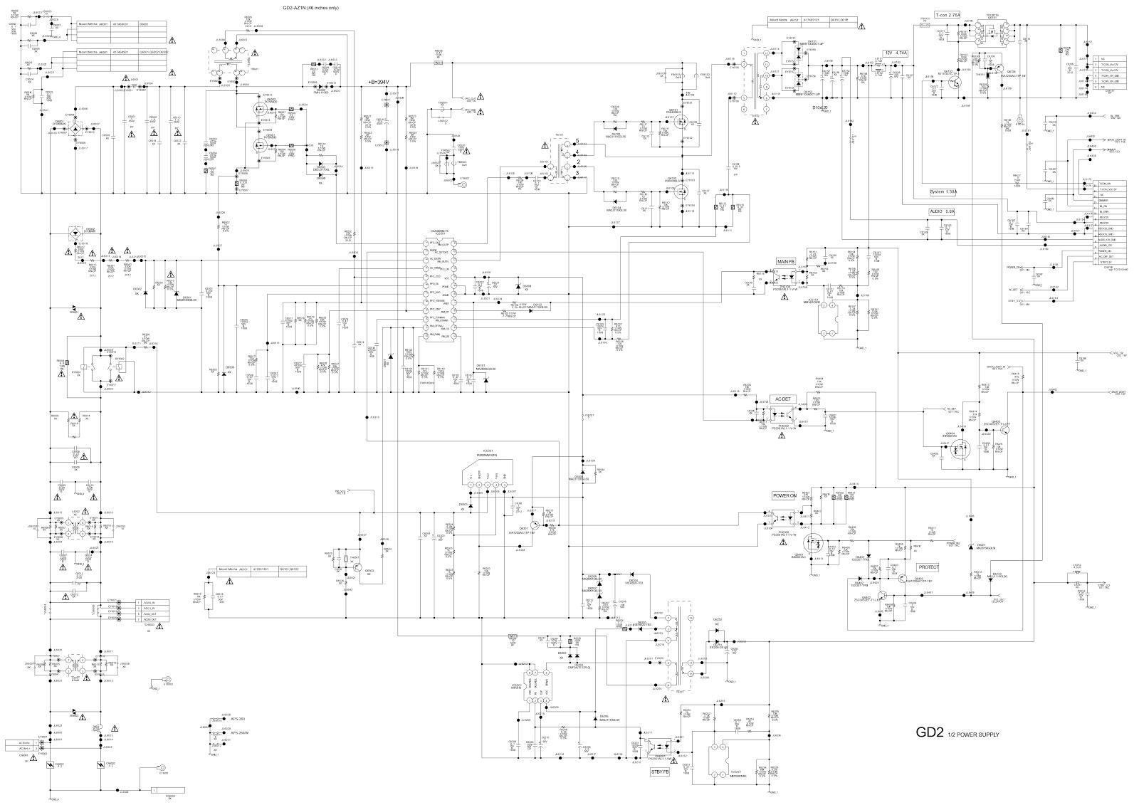300w Atx Power Supply Schematic
