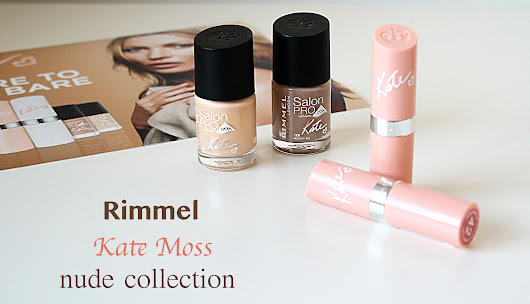 Rimmel Nude Collection - By Kate Moss