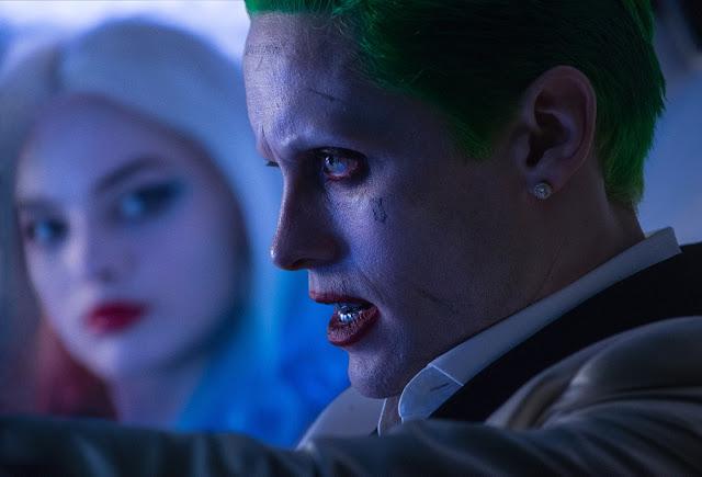 Joker harley quinn suicide squad still Jared Leto Margot Robbie