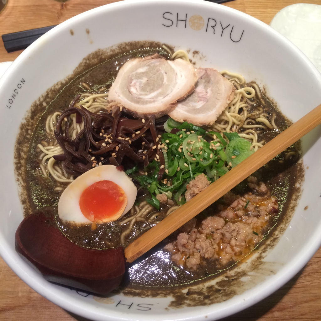 shoryu ramen review