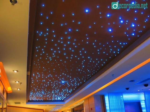 latest false ceiling design, modern false ceiling ideas with star lights