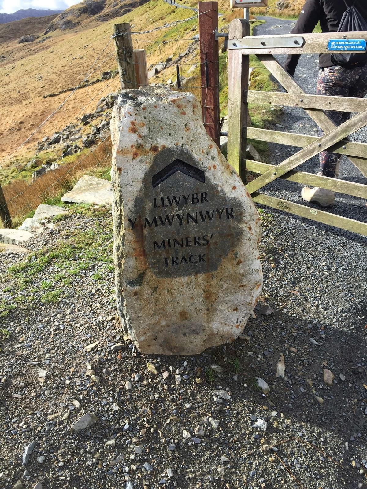 Snowdon Miner's Track