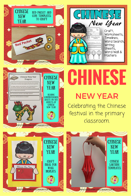 celebrating chinese new year in the classroom