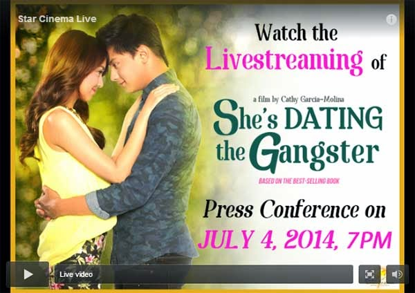 She's Dating The Gangster Grand Presscon Live Stream
