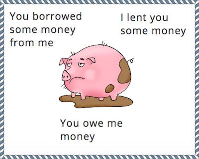borrowed lent разница
