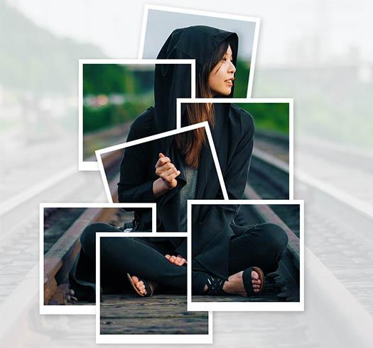 Make-collage-of-polaroids-photo-effect-using-photoshop