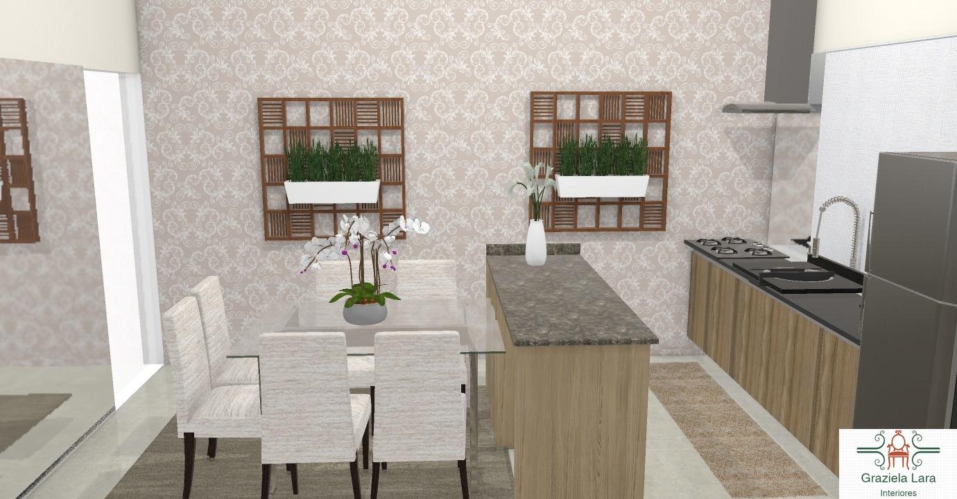 Construindo Minha Casa Clean Consultoria Cozinha E Sala De Jantar  ~ Banqueta Inox Para Cozinha Acozinha Com Cooktop Branco