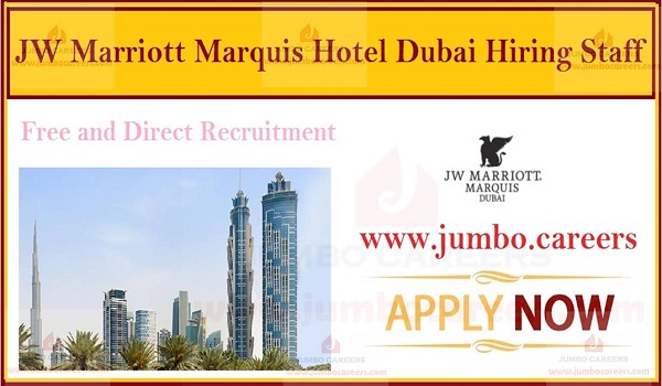 Job opportunities in Dubai, Urgent hotel jobs in Dubai,