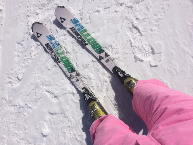 Andorra Skiing Holiday Vinatge Pink Ski Suit - Bearded Couture