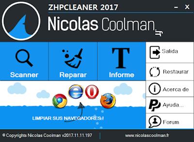 Limpieza total de secuestradores de navegadores web