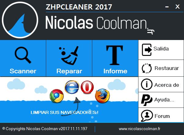 ZHPCleaner 2019.8.12.120 | Limpieza total de secuestradores de navegadores web | Portable