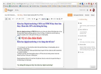 Cách Tối Ưu Hình Ảnh Blogger Chuẩn SEO
