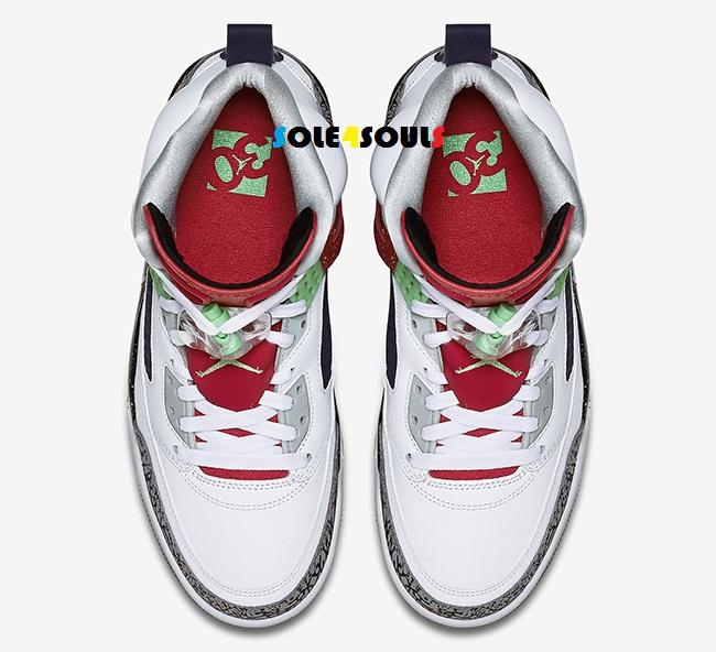huge discount 3c080 6adf2 Nike Jordan Spizike White Poison Green
