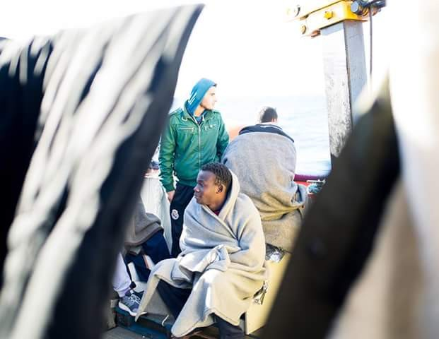 25 African migrants drown off Libyan coast after rubber dingy capsized