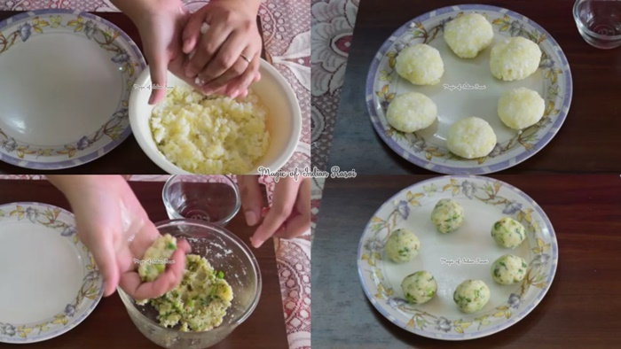 Stuffed Sabudana Tikki - Vrat / Fasting Recipe - साबूदाना टिक्की - व्रत की रेसिपी - Priya R - Magic of Indian Rasoi