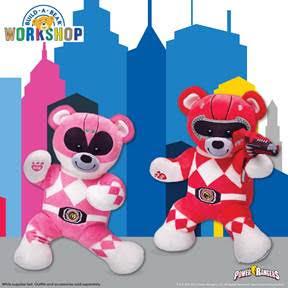 Build-A-Bear Power Rangers