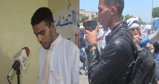 """السلطات المغربية توضع المدونين و الإعلاميين الصحراويين """" محمد سالم ميارة """" و """" محمد الجميعي """" بالسجن المحلي بالعيون المحتلة"""