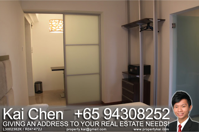 Fortville Service Apartment Singapore - Open Concept Wardrobe
