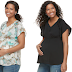 Kohls Card Holder: $2.52 (Reg. $36) + Free Ship Maternity a:glow Textured Satin Top!