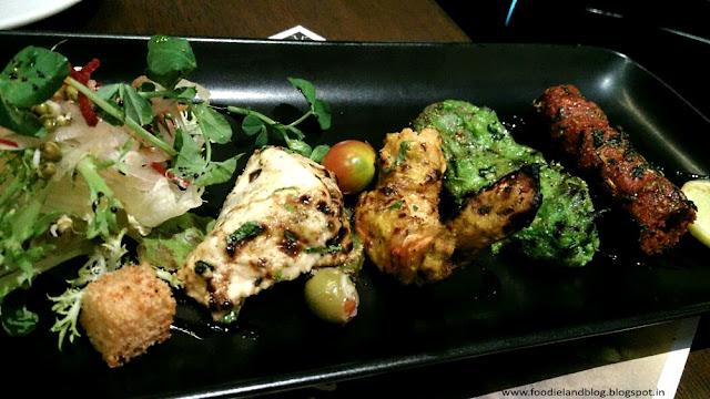 Assorted Kebab platter @ The New Menu @ Salt | Koramangala | Bangalore