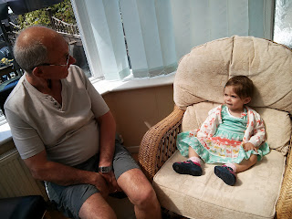 chilling with Granddad