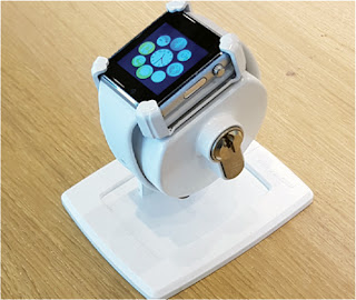 Apple Watch手錶防盜展示架,Apple Watch智慧手錶防盜架,Apple Watch防盜