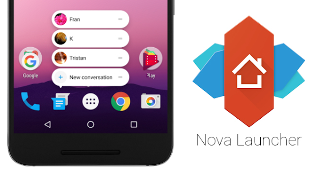 Nova Launcher Updated v5.2 With Notification dots & Round Search Bar