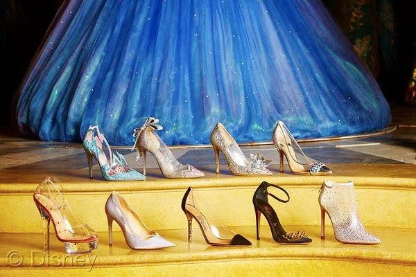 Morgan's Milieu | Cinderella's Glass Slippers: designs from Jimmy Choo and Salvatore Ferragamo!