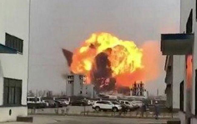 Китай взрыв химическое предприятие Chenjiagang Tianjiayi