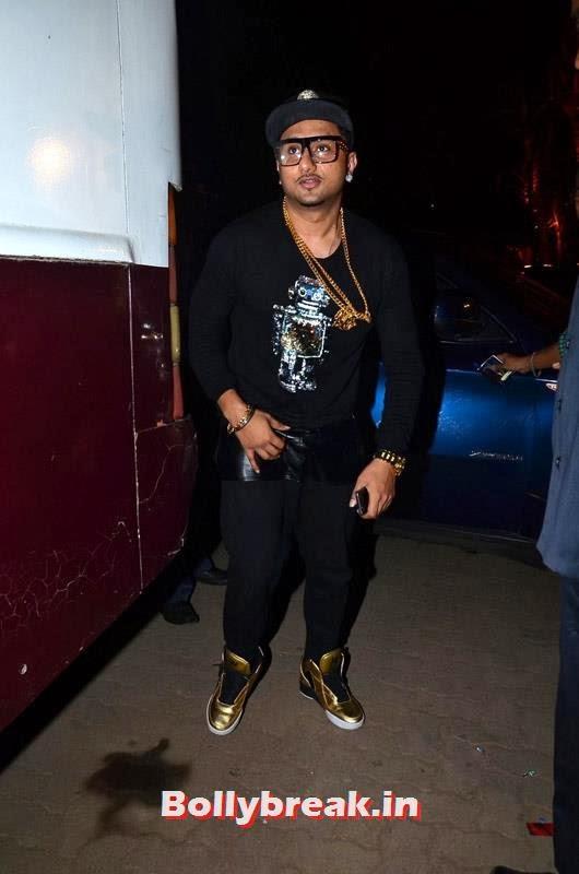 Yo Yo Honey Singh, Abhay and Preeti at Yo Yo Honey Singh Concert