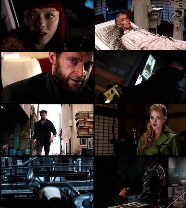 The Wolverine 2013 Hindi Dubbed 480p BluRay