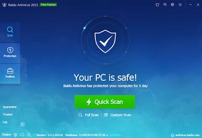 تحميل برنامج مكافحة الفيروسات Baidu Antivirus