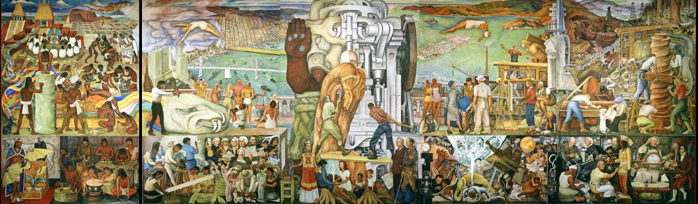 Catherine la rose poesia e arte diego rivera 1887 1957 for Diego rivera lenin mural