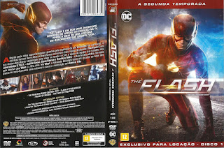 Capa DVD The Flash Segunda Temporada D1 a D6