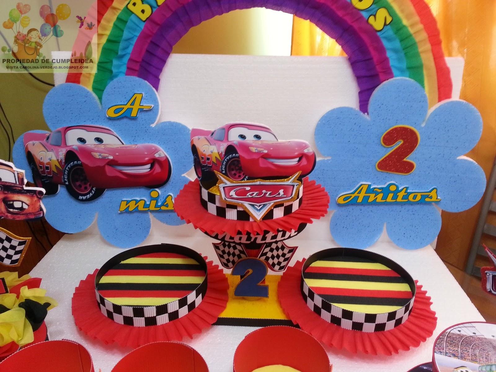 Decoraciones infantiles cars for Decoracion cumples infantiles