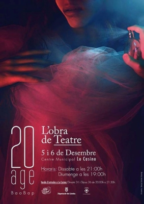 Bao-bap Teatre- Cartell