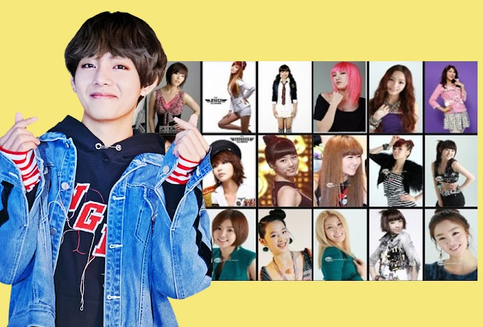 BTS Direct Choice Top5 Girl Idol