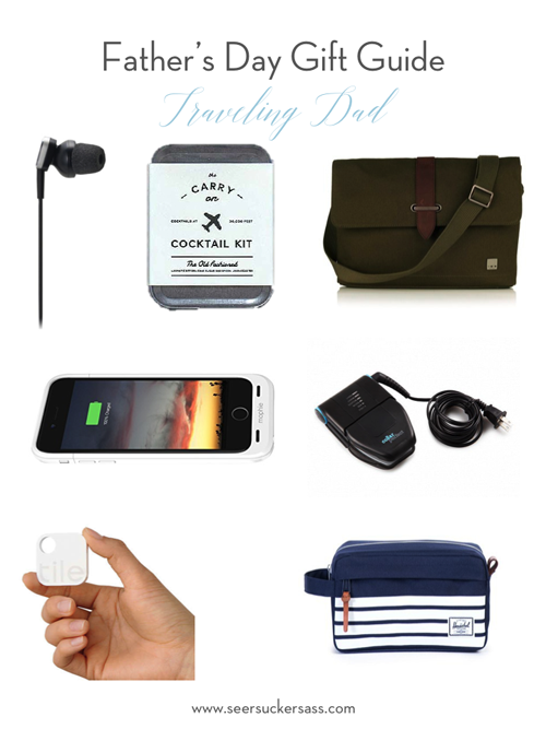 Father's Day Gift Guide Traveling Dad